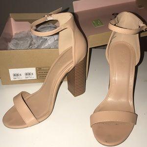 Sandal block heels